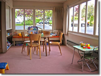 Photo of child care room
